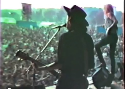 Hanoi Rocks live [YouTube screenshot]