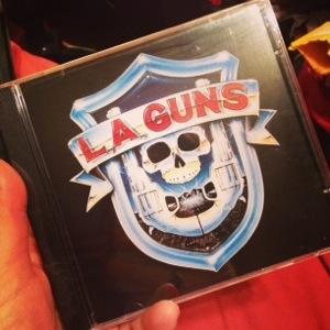 L.A. Guns debut CD
