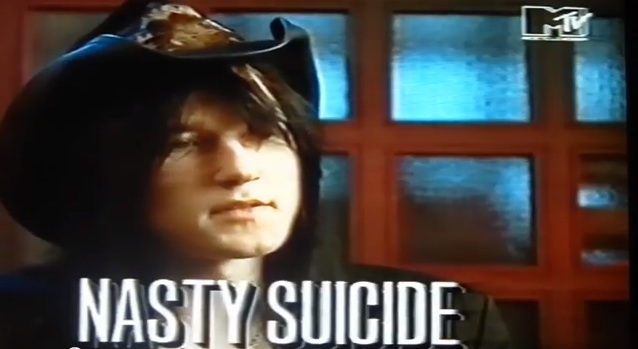 Nasty Suicide, Hanoi Rocks interview [YouTube screenshot]