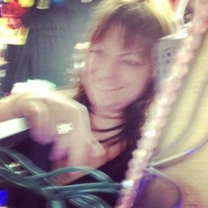 Pyra Draculea blurry self portrait