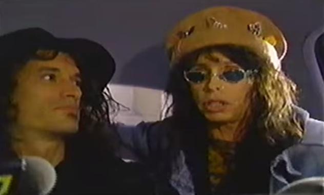 Aerosmith interview clip [YouTube screenshot]