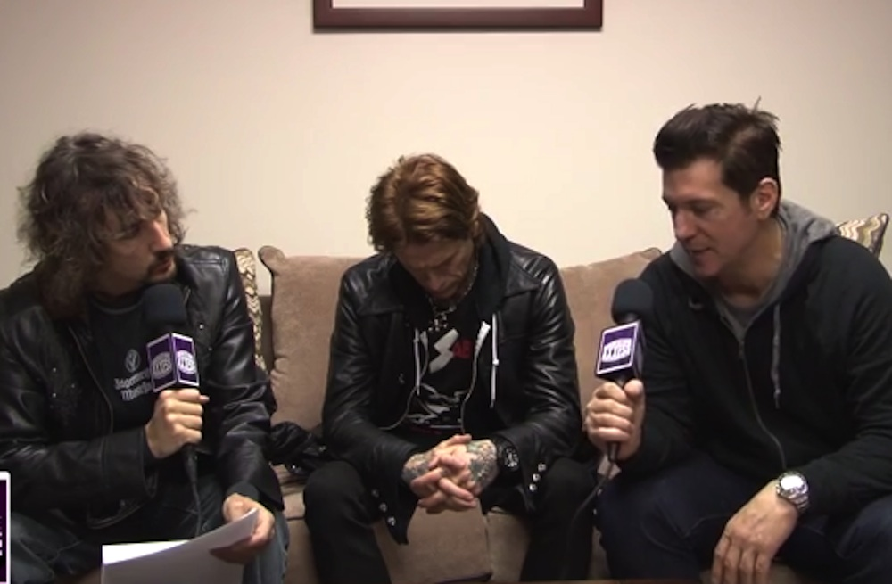 Buckcherry interview [YouTube screenshot]