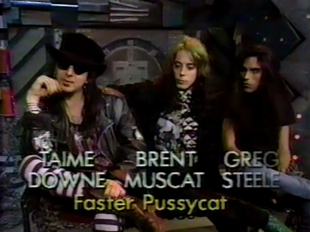 Faster Pussycat interview [YouTube screenshot]