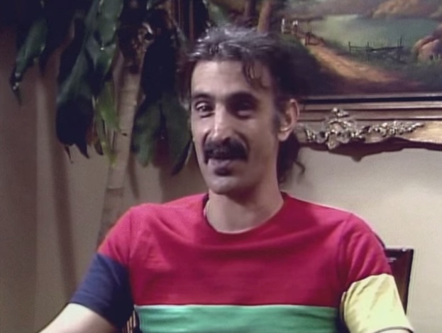 Frank Zappa interview [YouTube screenshot]