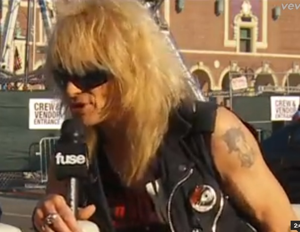 Michael Monroe interview [YouTube screenshot]