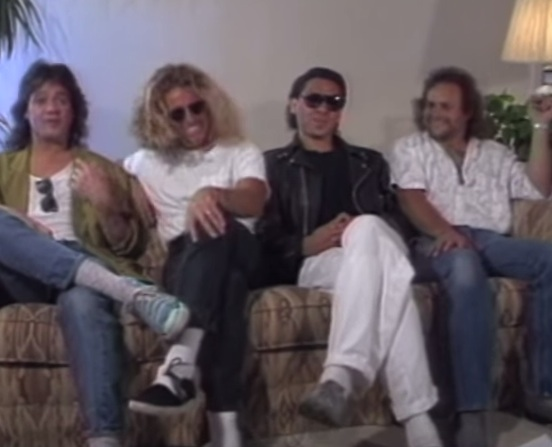 Van Halen interview [YouTube screenshot]