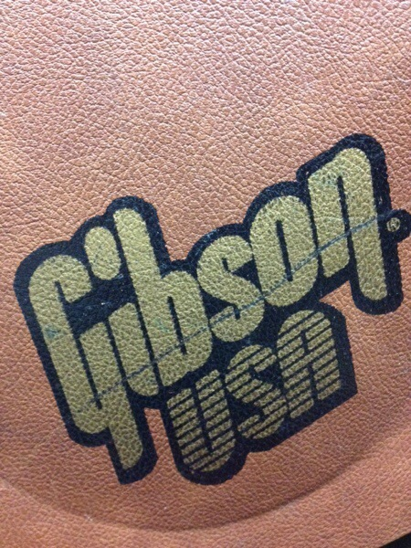 Gibson USA guitar case logo
